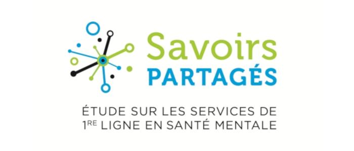 Savoirs partagés : Étude sur les services de première ligne en santé mentale